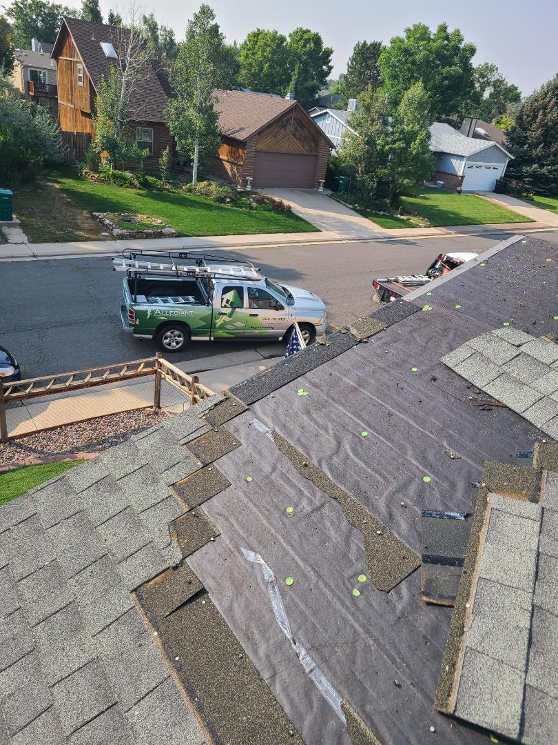 Arvada, CO - Another job started in Arvada