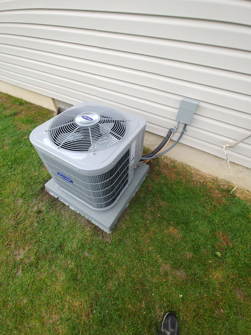 Walled Lake, MI - Installed new ac in Walled Lake Michigan
