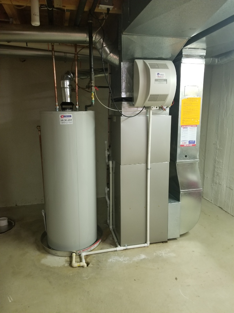 Milford Charter Township, MI - Brand new A/C, Furnace, and Water Heater out in Milford