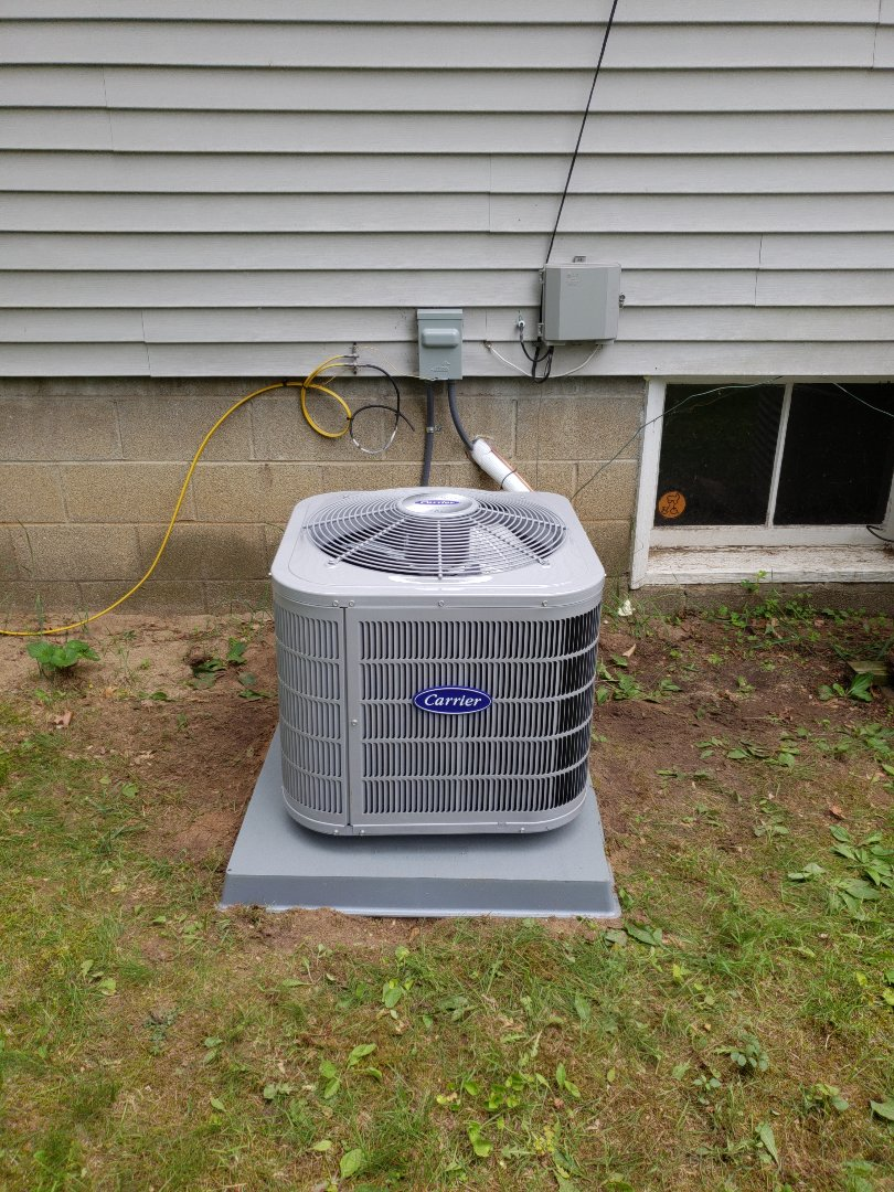 White Lake charter Township, MI - Installed a/c, furnace, condo pump and coil... white lake