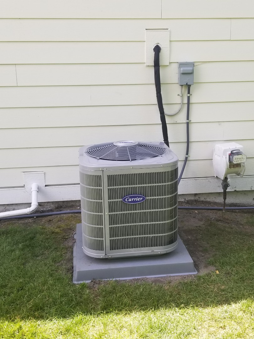 Highland Charter Township, MI - New A/C installed out in Highland