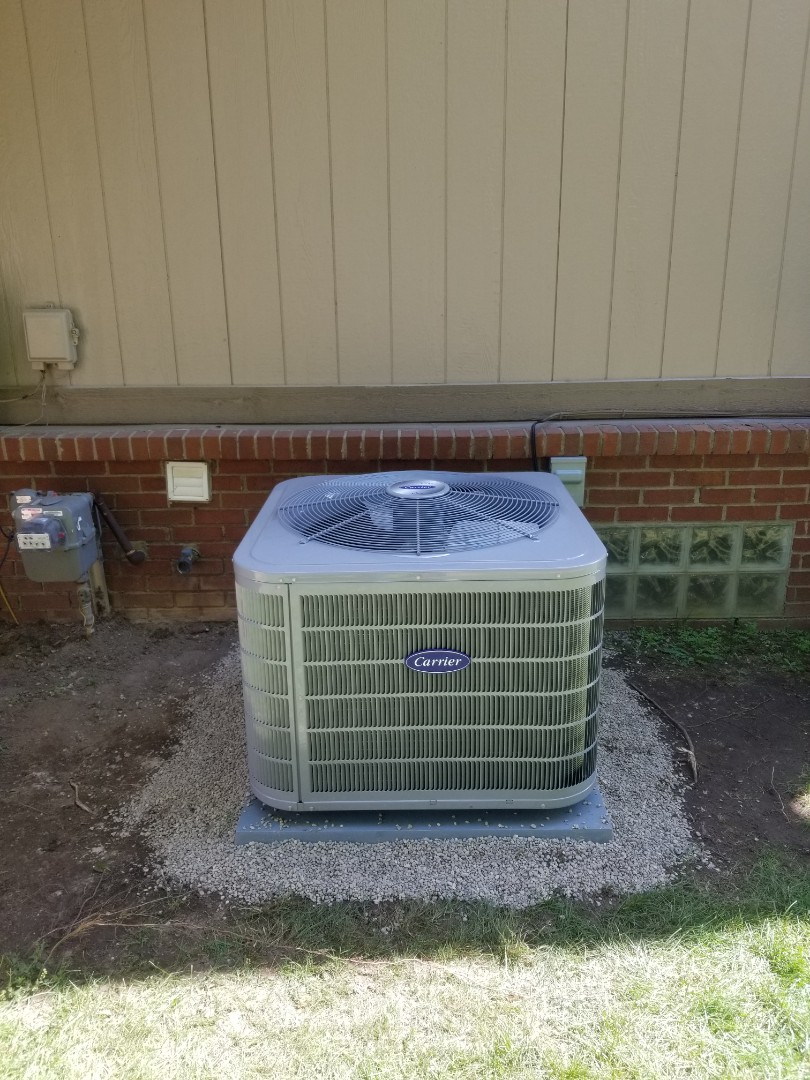 White Lake charter Township, MI - Installed new Furnace, A/C , and Water Heater in White Lake