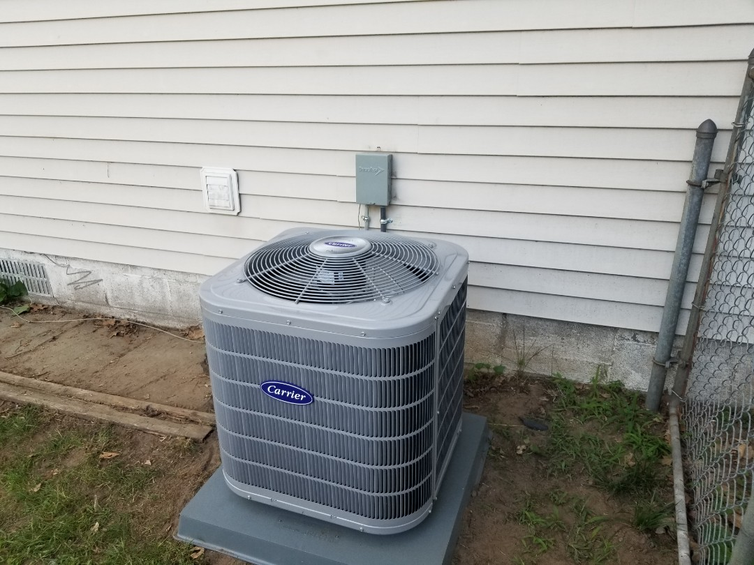 White Lake charter Township, MI - New A/C installed out in White Lake