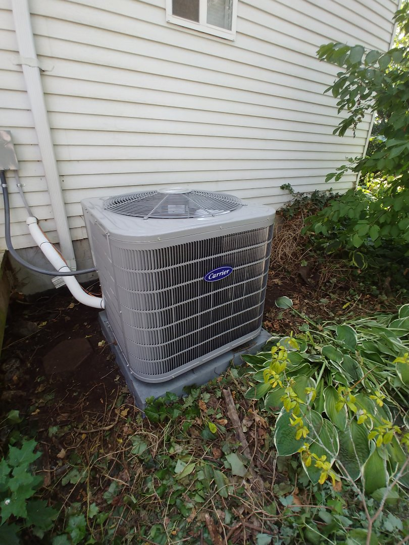 Highland Charter Township, MI - Installed new AC in Highland MI