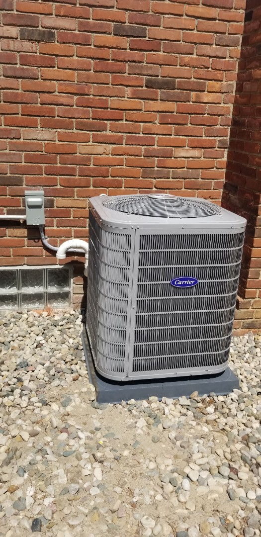 Commerce Charter Township, MI - New A/C installed in Walled Lake