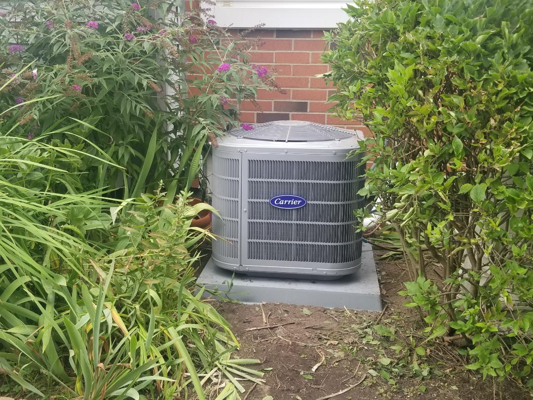 Walled Lake, MI - New furnace and A/C installed in Walled Lake
