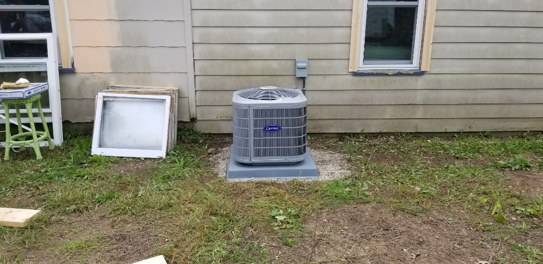Highland Charter Township, MI - New A/C installed in Milford
