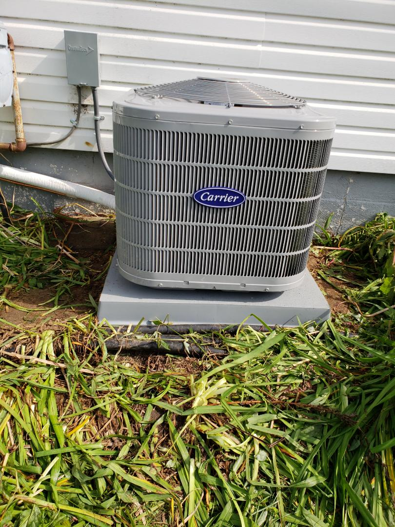 Commerce Charter Township, MI - Installed a/c commerce