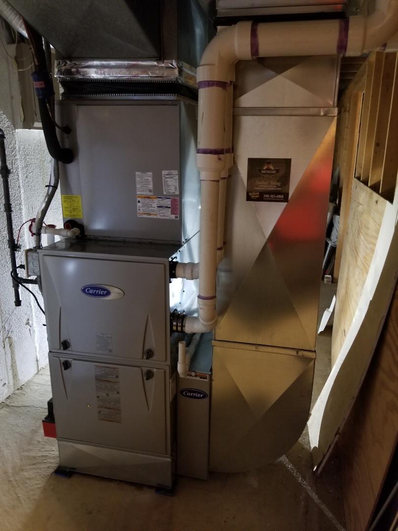 Farmington Hills, MI - New furnace installed in Farmington Hills