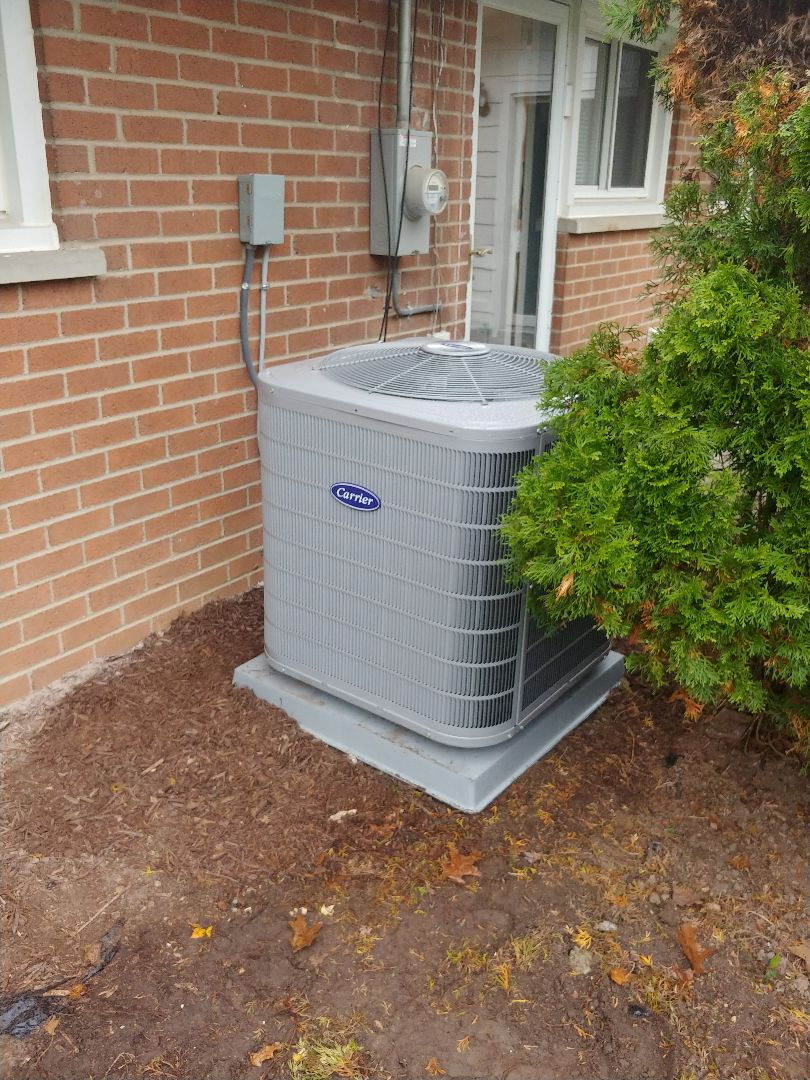 Commerce Charter Township, MI - New Carrier AC installed in Commerce, MI