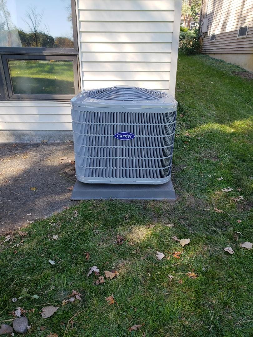 West Bloomfield Township, MI - Installed a/c and furnace