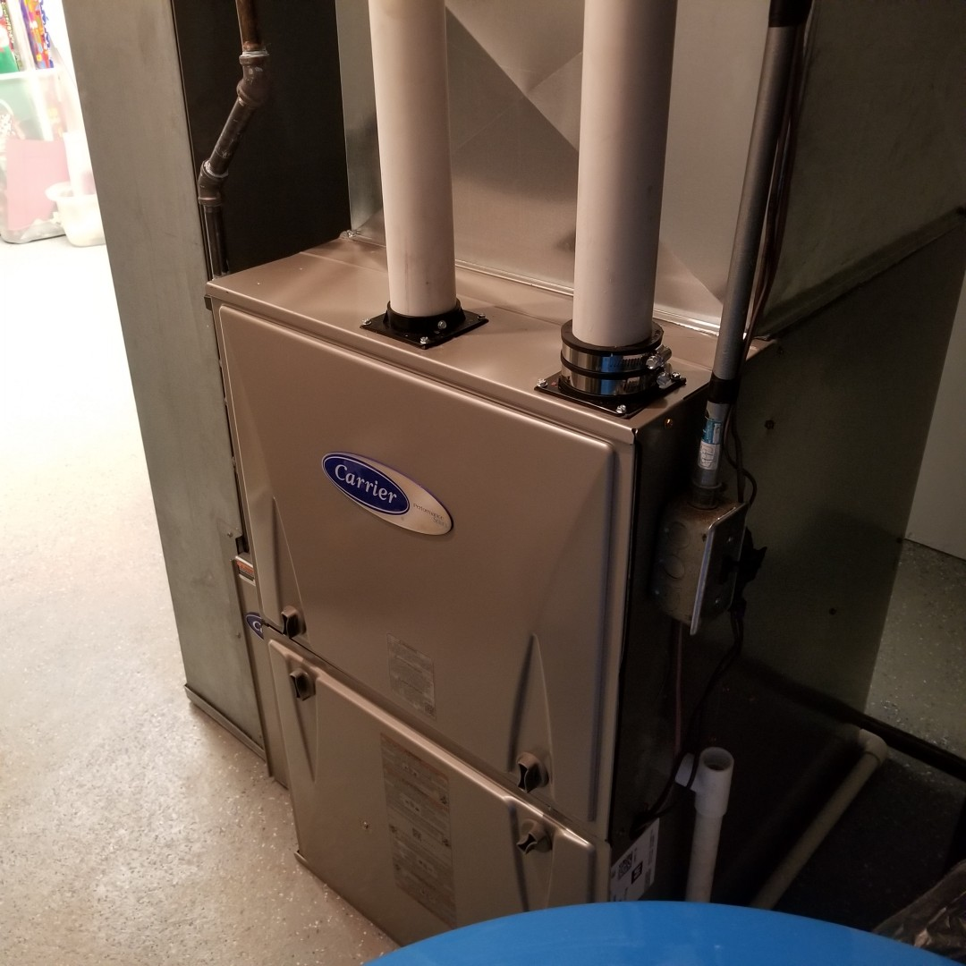 Commerce Charter Township, MI - New furnace installed in commerce