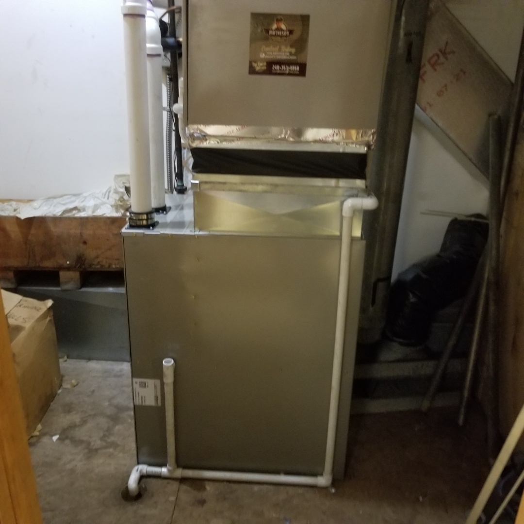 Commerce Charter Township, MI - New furnace installed in walled lake