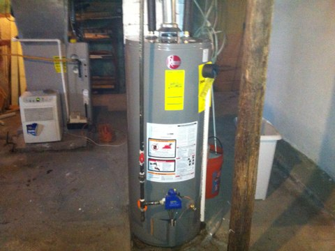 Mohawk, NY - Installation of 40 gallon nat gas hot water heater