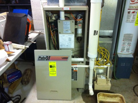 Northampton, NY - Propane furnace inspection