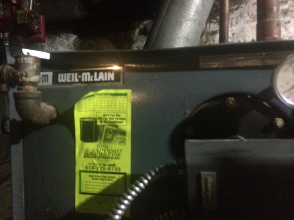 Mechanicville, NY - Repair Weil McLain oil boiler