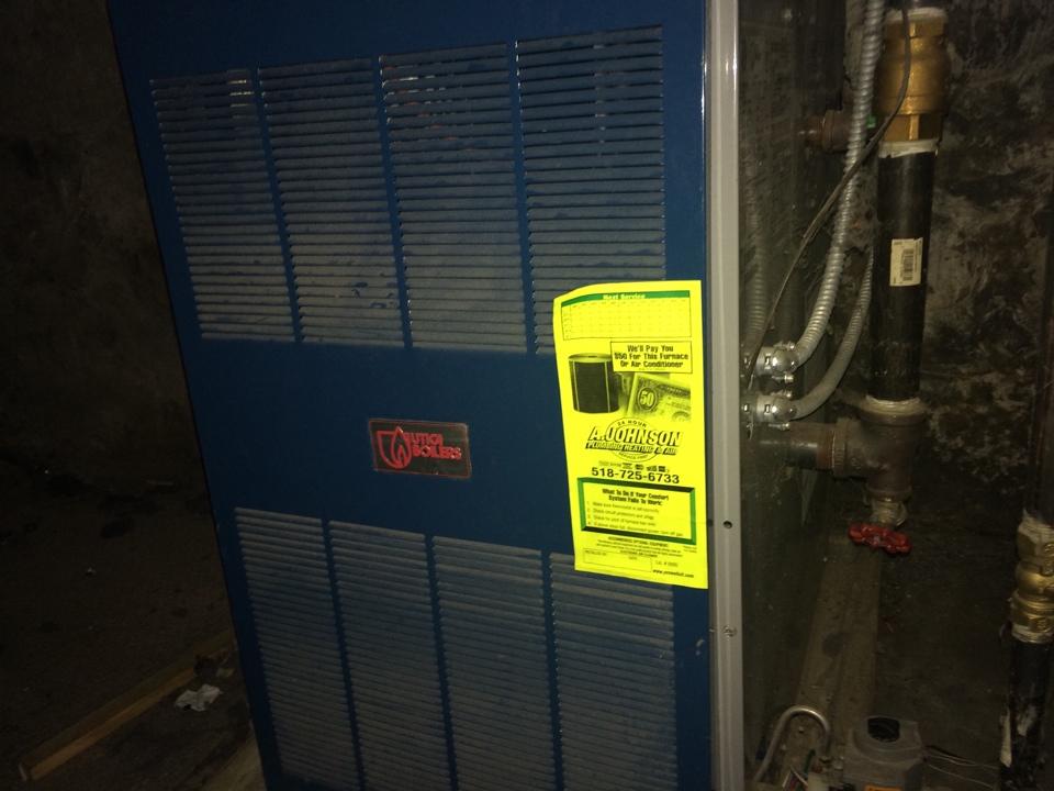 Mechanicville, NY - Repair Utica boiler