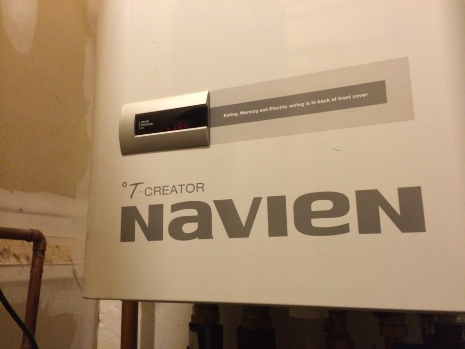 Albany, NY - Preventive maintenance on a Navian tankless hot water and boiler combo