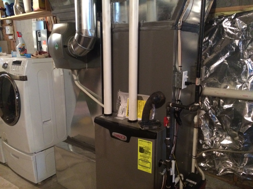Guilderland, NY - Service Lennox gas furnace and humidifier