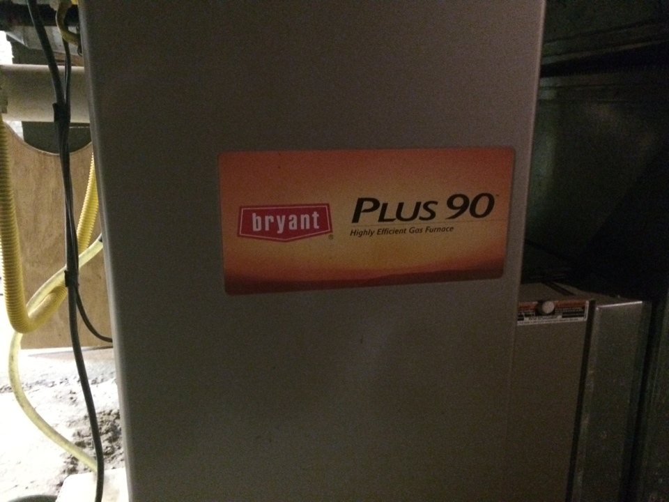 Palatine Bridge, NY - Preventive maintenance on a Bryant gas furnace