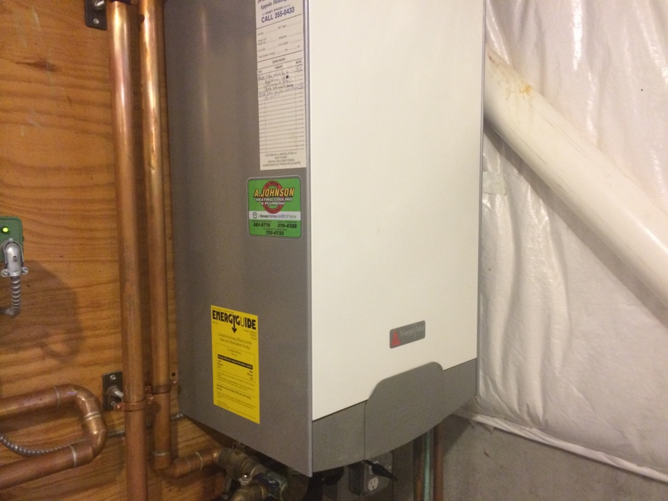 Stillwater, NY - Repair Triangle Tube LP tankless boiler