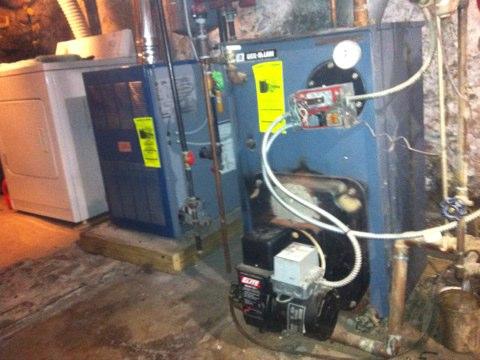 Mechanicville, NY - Oil boiler repair
