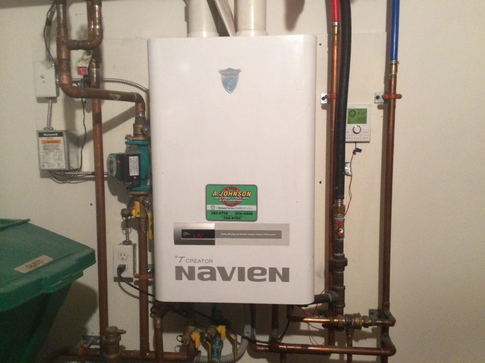 Greenwich, NY - Service Navian tankless boiler