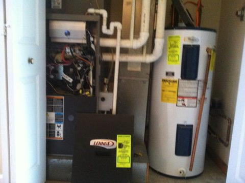 Malta, NY - Furnace inspection