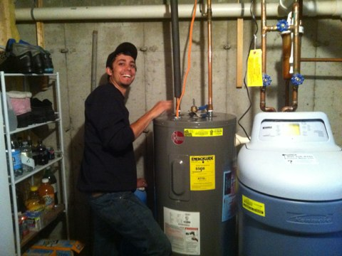 Duanesburg, NY - Electric hot water replacement