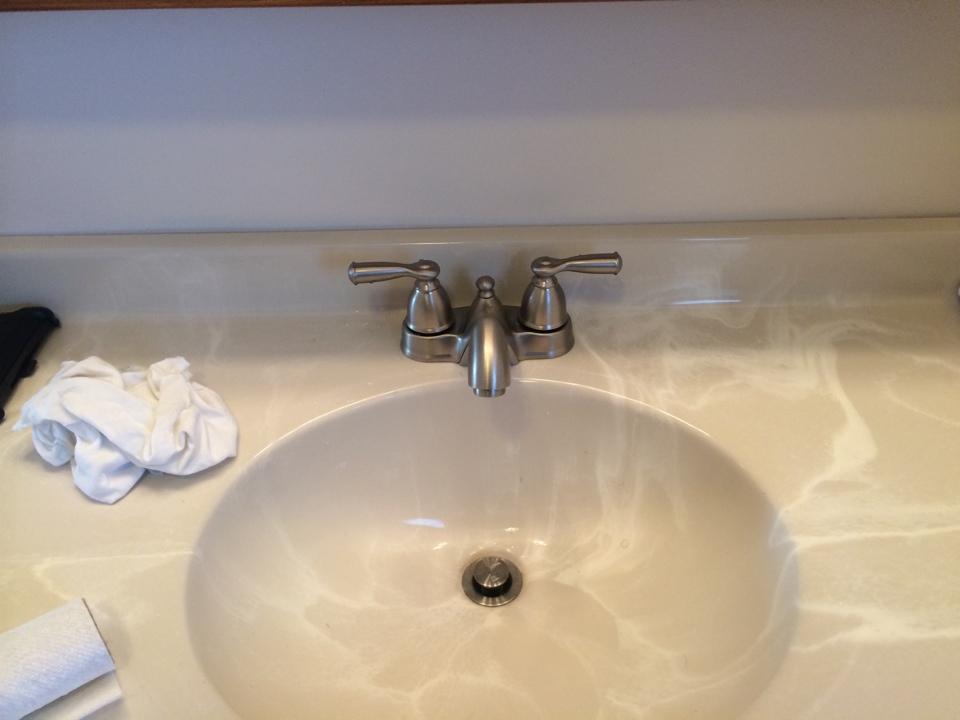 Fonda, NY - Install bathroom faucet