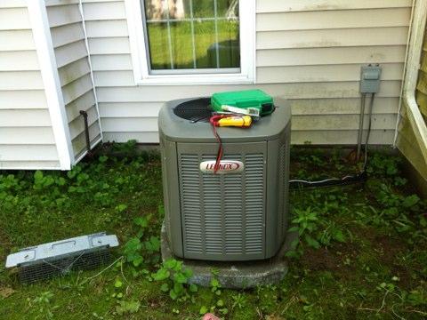 Milton, NY - Lennox a/c inspection