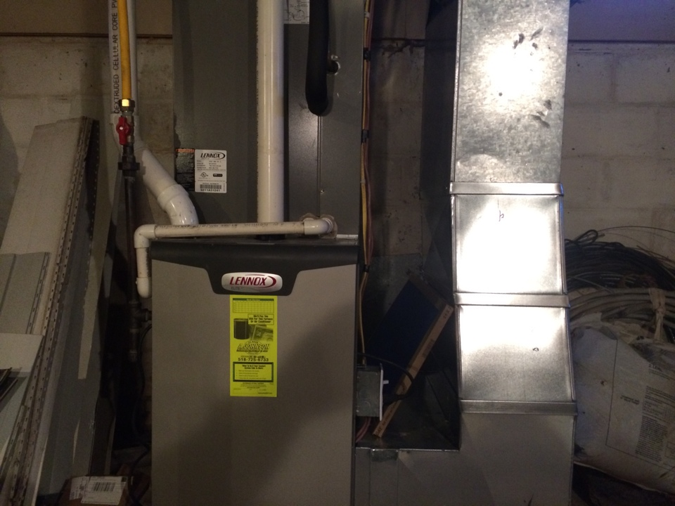 Delanson, NY - Repair a Lennox LP furnace