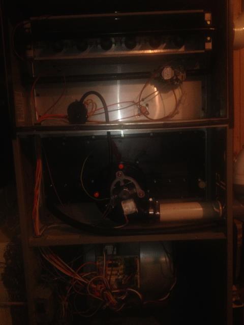 Gansevoort, NY - Heating repair on Goodman gas furnace