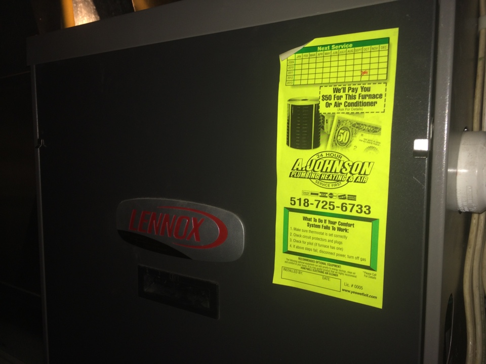Round Lake, NY - Repair a Lennox gas furnace