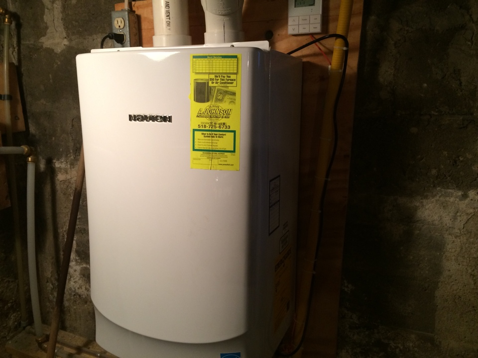 Fort Johnson, NY - Service Navian tankless hot water heater