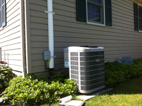 Florida, NY - Carrier 2 stage a/c inspection