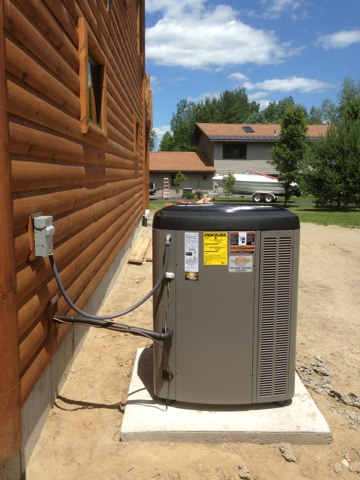 Northampton, NY - Installation of new Lennox Slp 98 furnace and Lennox heat pump