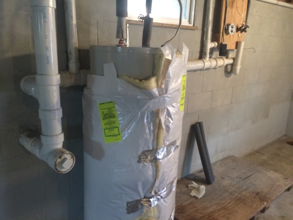 Mayfield, NY - Installation of a 50 gallon electric hot water heater