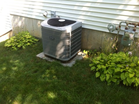 Colonie, NY -   No air conditioning service call ,found low  Refrigerant. Completed full AC leak search on central air system repaired leaks cleaned unit.Set up customer Yearly Maintenance Program