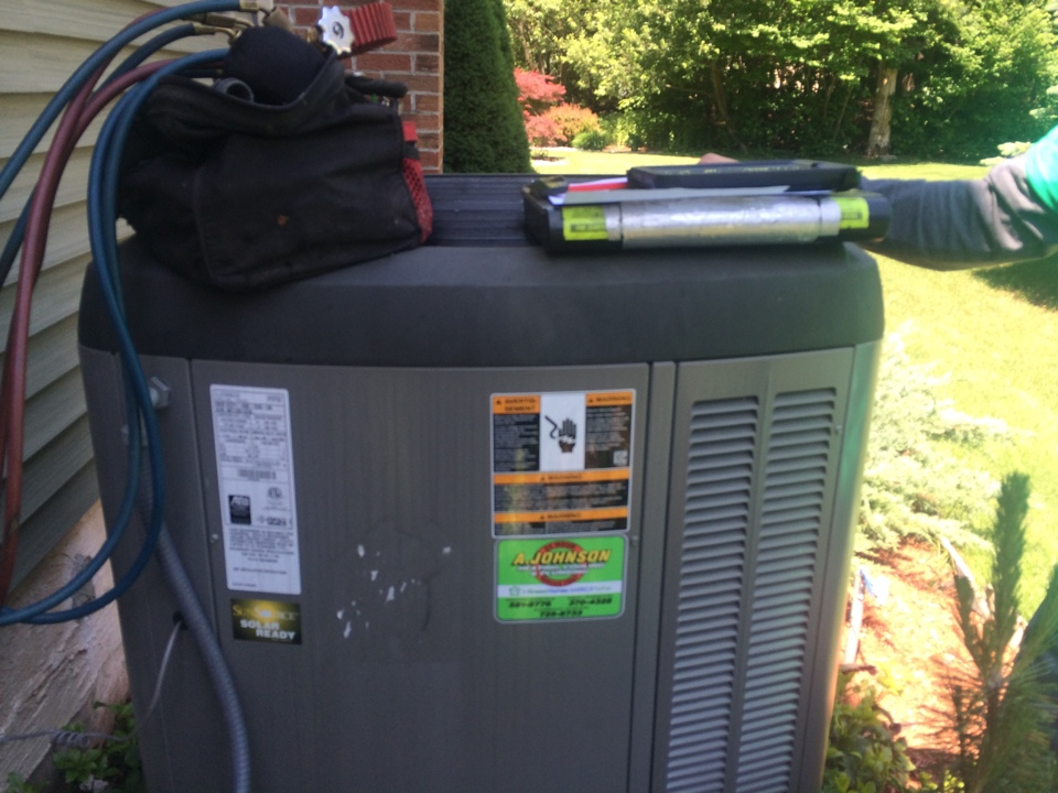 Gansevoort, NY - Service a Lennox gas furnace  , air conditioner and Navian tankless hot water heater