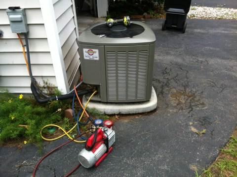 Milton, NY - Compressor replacement on central air system