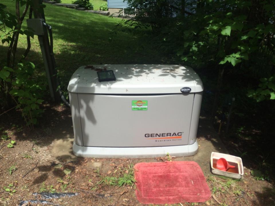 Mayfield, NY - Service a Generac generator