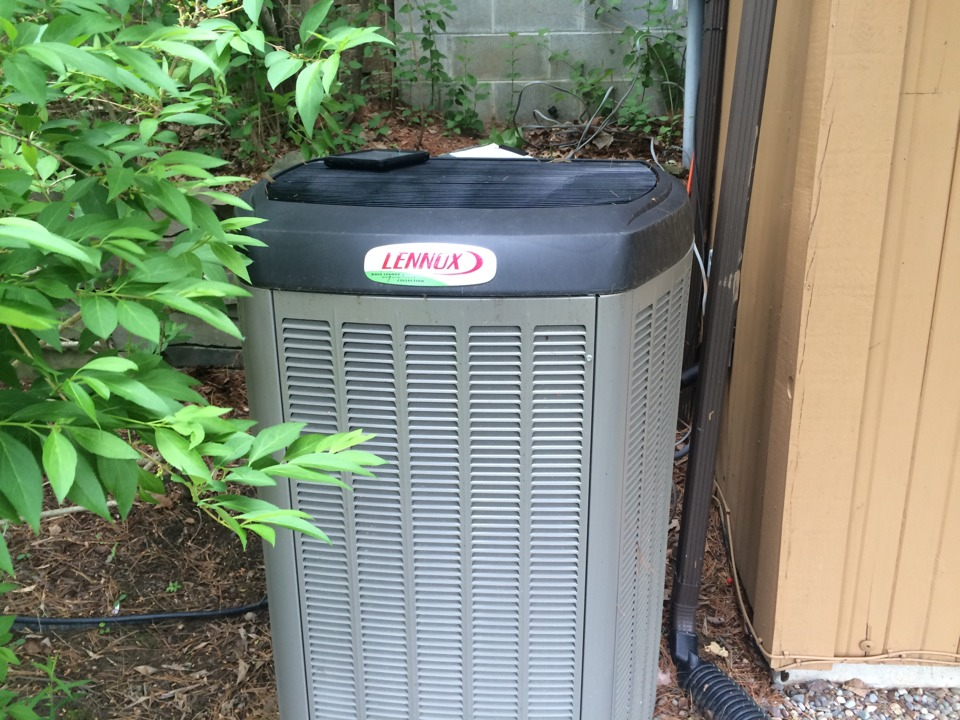 Altamont, NY - Service  Lennox LP furnace and a Lennox air conditioner