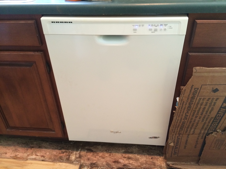 Duanesburg, NY - Plumbing install customer supplied dishwasher