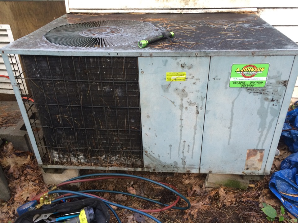 Gansevoort, NY - Refrigerant leak search on a Nordyne air-conditioner