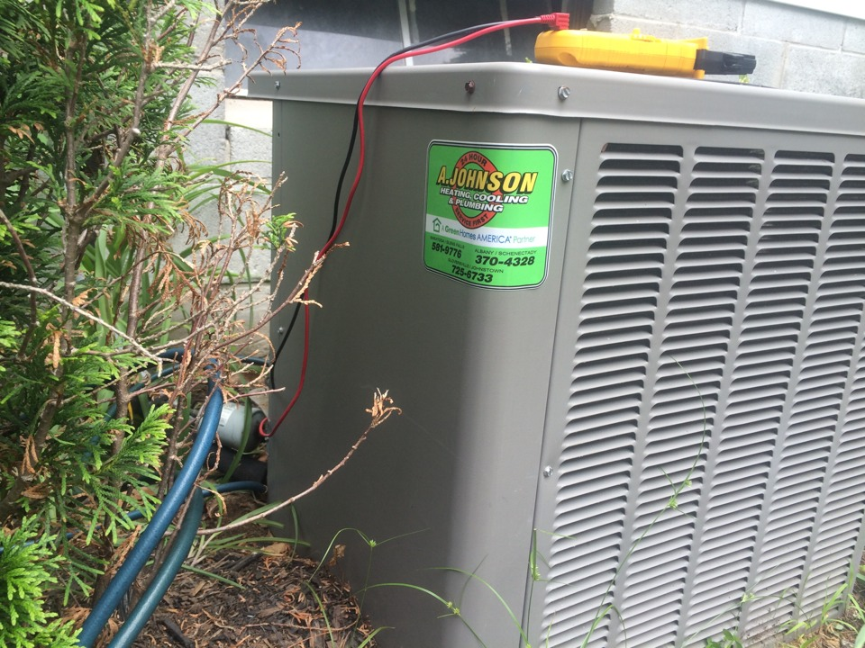 Saratoga Springs, NY - Service a Rheem air-conditioner