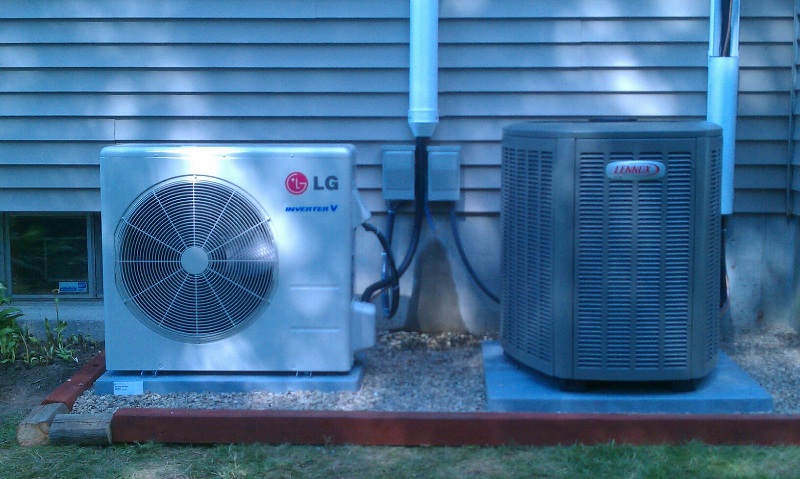 Saratoga Springs, NY - Installation of lennox SLP 98 percent efficient condensing hot air furnace