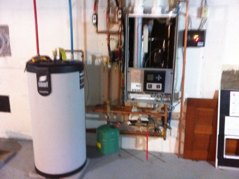 Rensselaer, NY - Yearly heating Triangle Tube with tankless hot water heater/ whole house heater combo service and safety check first year service