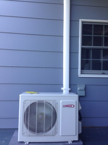 Canajoharie, NY - Installation of new lennox mini split system and new Rheem air handler and Rheem condenser.