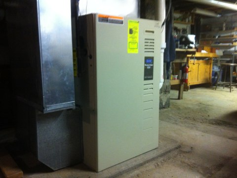 Canajoharie, NY -  Heating service call.Customer wanted there Carrier gas furnace inspections and safety check completed .  Set up customer Yearly Maintenance Program